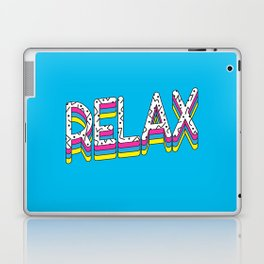 Relax Quote Laptop & iPad Skin