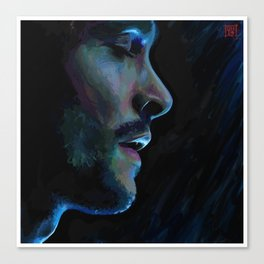 Blue Swallow Canvas Print