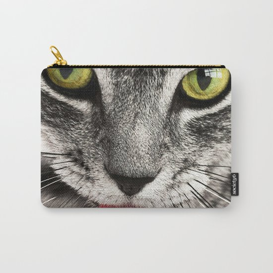 Seductive Cat (Funny) Carry-All Pouch