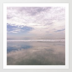 Reflection on the Water Art Print