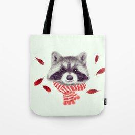 Indi raccoon Tote Bag