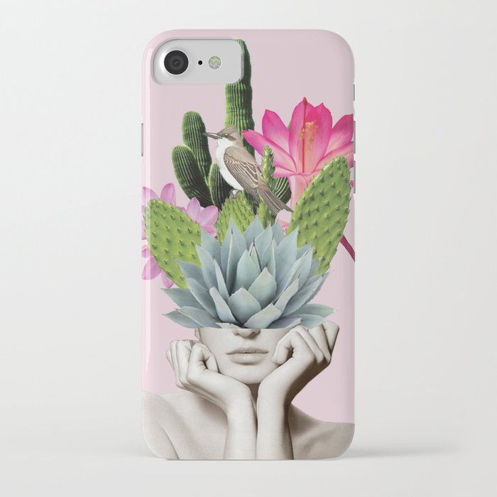cactus lady iphone case