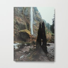 Waterfell Metal Print