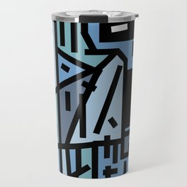The sad hipster and the copper mosquito Travel Mug