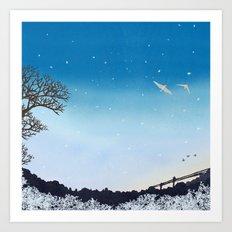 On Their Way Home | Miharu Shirahata Art Print
