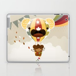 Chestnut Girl Balloon!!! Laptop & iPad Skin