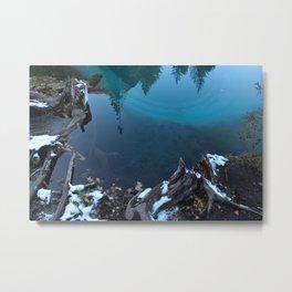 geyser lake Metal Print
