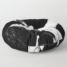 asc 481 - L'avaleuse de sabre (Deep throat) Floor Pillow