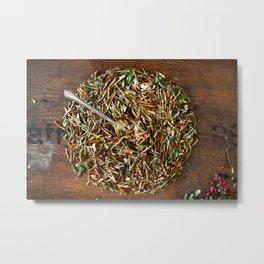 Herbal dish Metal Print