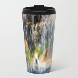 Trickle Waterfall at Otter Crest Beach, Oregon Travel Mug