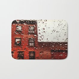 Rainy Day in Brooklyn Bath Mat