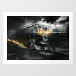 Poster - Helltrain Art Print
