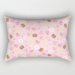 It's a Girl Rectangular Pillow