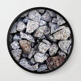 Railway Rocks Wall Clock