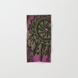 Sunset Dreamcatcher - enhanced Hand & Bath Towel