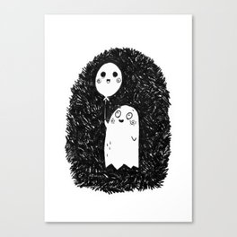 Happy Ghost Canvas Print