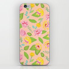 Floral Escape 8 iPhone & iPod Skin