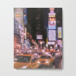 Times Square New York City Metal Print