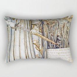 Edward Burne-Jones  - Pyramus and Thisbe - Digital Remastered Edition Rectangular Pillow