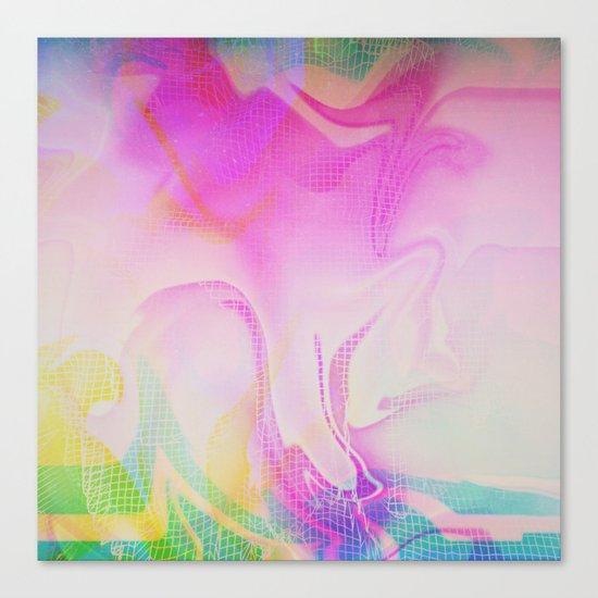 Glitch 25 Canvas Print