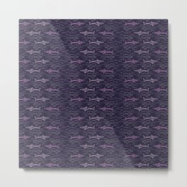Shark pattern #society6 #decor #buyart #artprint Metal Print