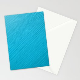 Light blue painted wood background Stationery Cards