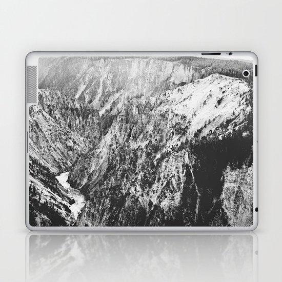 Canyon Black and White Laptop & iPad Skin