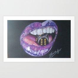 Lips I Art Print