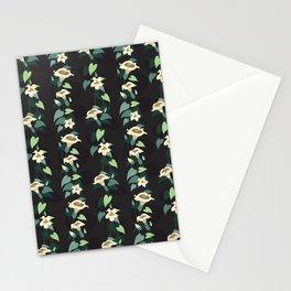 Moonflower vine pattern Stationery Cards