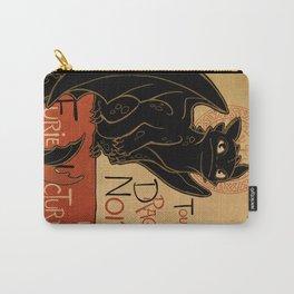 Le Dragon Noir Carry-All Pouch