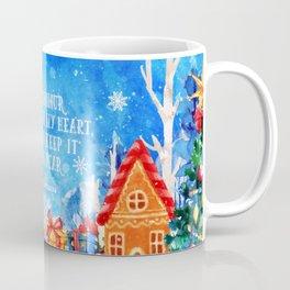 I will honour christmas in my heart Coffee Mug