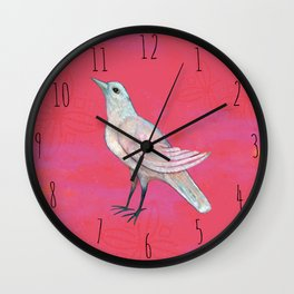 Song of the Dove Wall Clock