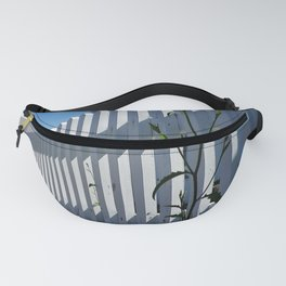 WHITE PICKET FENCE PORT ISAAC CORNWALL Fanny Pack
