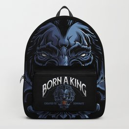 Born A King Backpack
