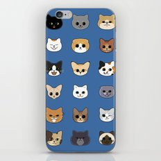 Happy Cats iPhone & iPod Skin