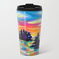 Landscape With Saucers Metal Travel Mug