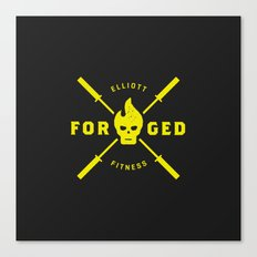 Forged Canvas Print