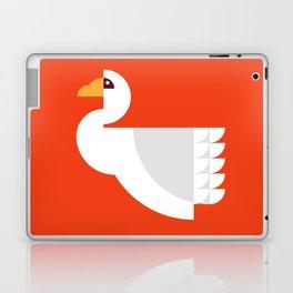 Geometric swan Laptop & iPad Skin