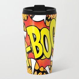 Ka Boom Pop Art Travel Mug