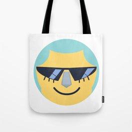 Franky Emoji Design Tote Bag
