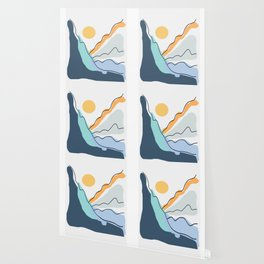Minimalistic Landscape II Wallpaper
