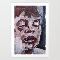 The Thought Inbetween Art Print