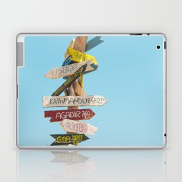 Arrows distance Laptop & iPad Skin