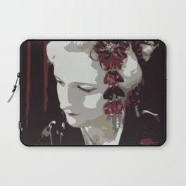 the fair-haired geisha Laptop Sleeve