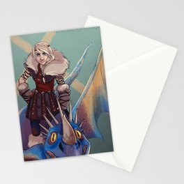 Astrid and Stormfly Stationery Cards