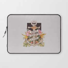 Remove everything that holds you down Laptop Sleeve