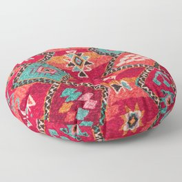 18 - Traditional Colored Epic Anthique Bohemian Moroccan Artwork Floor Pillow