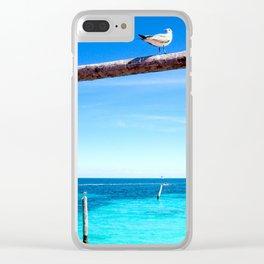 Bird - Cancun, Mexico Clear iPhone Case