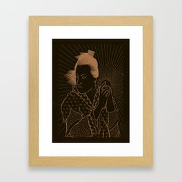 Oriental. Framed Art Print