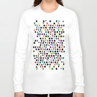 wallpaper Long Sleeve T-shirts featuring Wallpaper #1 by Hovercraftdoggy